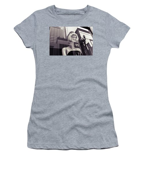 Women's T-Shirt (Athletic Fit) featuring the photograph Empty by Alex Lapidus