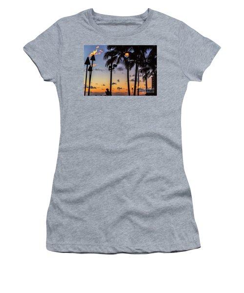 End Of The Beutiful Day.hawaii Women's T-Shirt