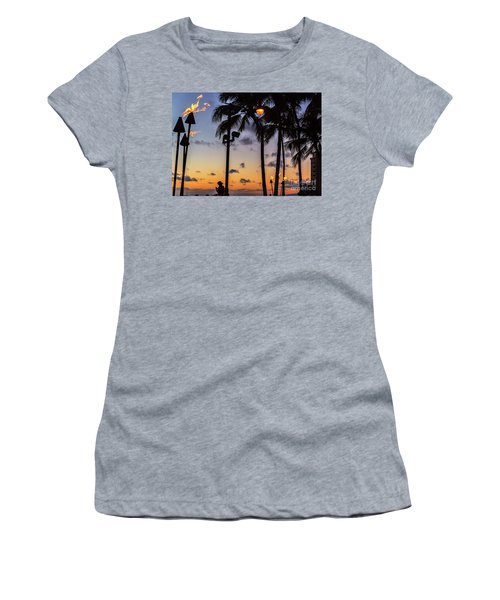 End Of The Beutiful Day.hawaii Women's T-Shirt