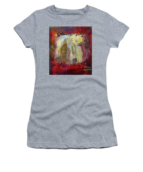 Energies And The Yellow Bird Women's T-Shirt (Athletic Fit)
