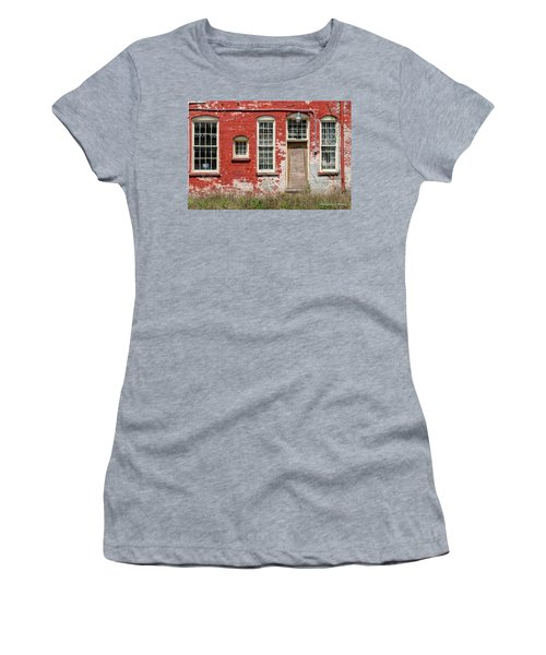 Women's T-Shirt (Junior Cut) featuring the photograph Enough Windows by Christopher Holmes