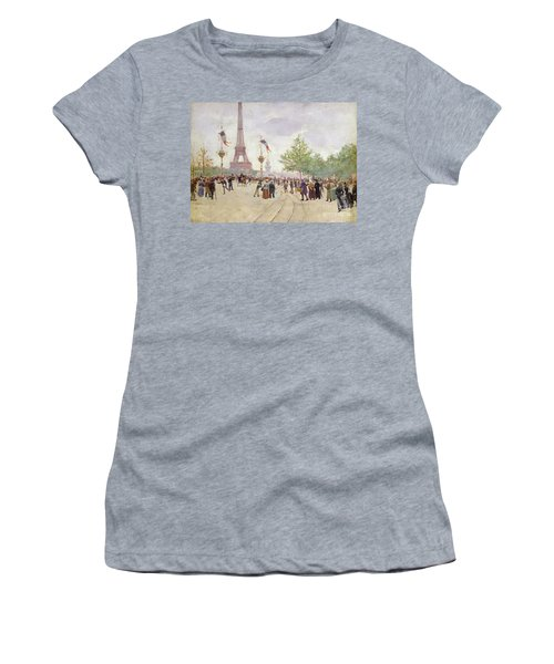 Entrance To The Exposition Universelle Women's T-Shirt
