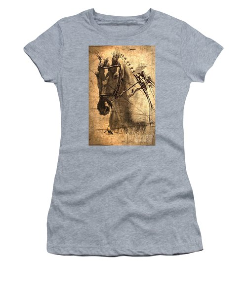 Equestrian Women's T-Shirt (Athletic Fit)