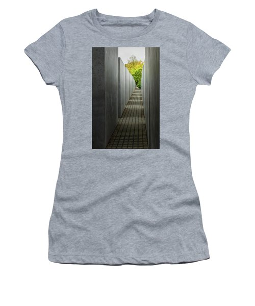 Women's T-Shirt (Athletic Fit) featuring the photograph Escape From Oppression by Geoff Smith
