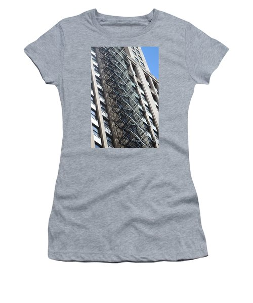 Escaping A Chicago Brownstone Women's T-Shirt