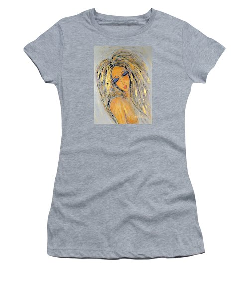 Ethereal Stillness  Women's T-Shirt (Athletic Fit)