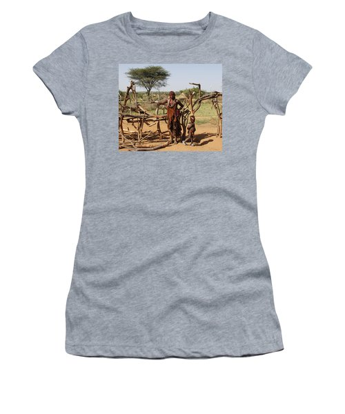 Ethiopia-south Mother And Baby No.2 Women's T-Shirt (Athletic Fit)