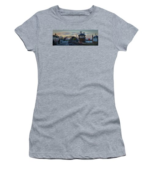 Evening At Bo'ness Station Women's T-Shirt (Athletic Fit)