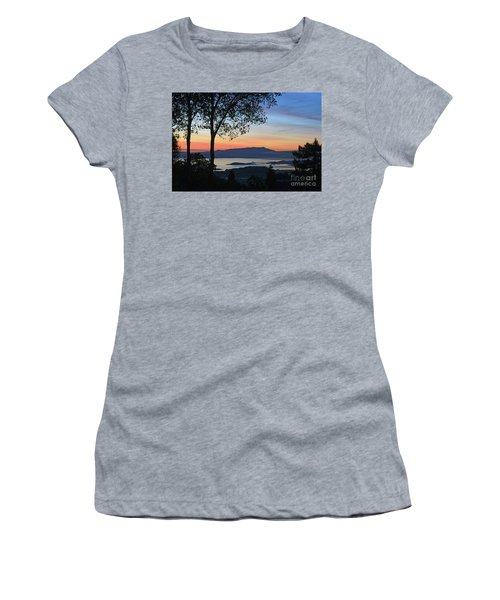 Evening Before Lunar Eclipse Women's T-Shirt (Athletic Fit)