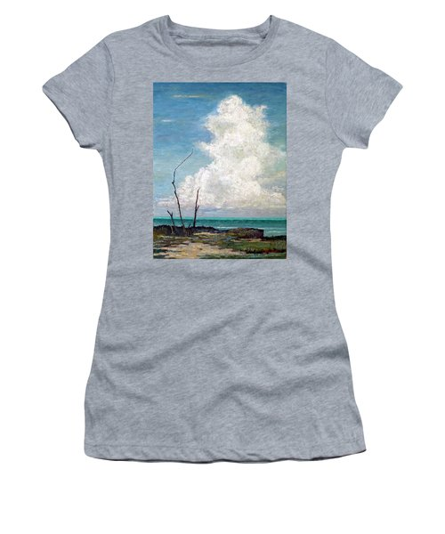 Evening Cloud Women's T-Shirt (Athletic Fit)