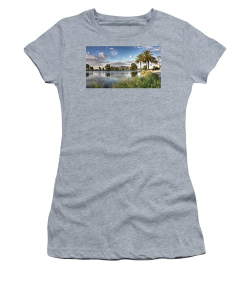 Evening Fishing Women's T-Shirt (Junior Cut) by Lynn Geoffroy