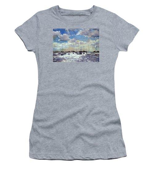 Evening Light - Gulf Of Morbihan Women's T-Shirt