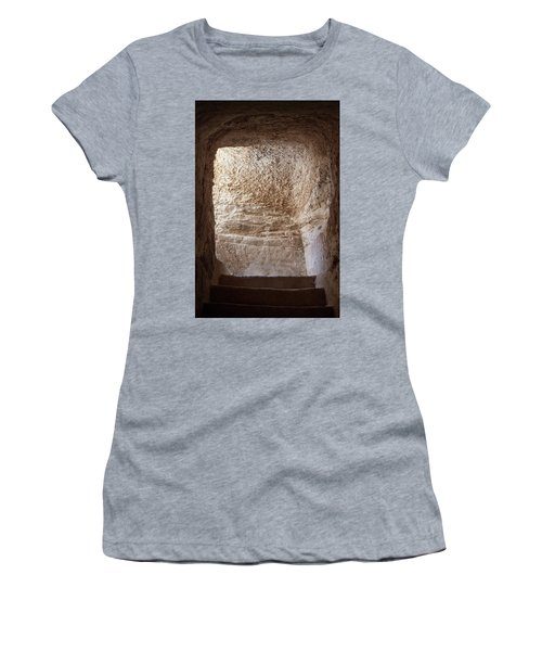 Exit To The Light Women's T-Shirt (Junior Cut) by Yoel Koskas