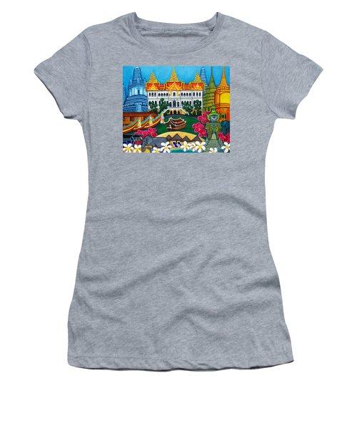Exotic Bangkok Women's T-Shirt (Athletic Fit)