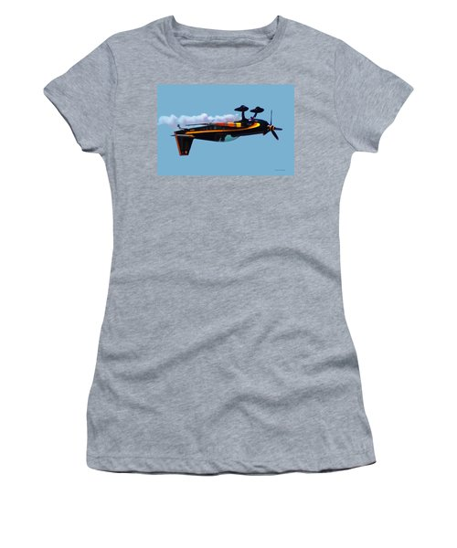 Extra 300s Stunt Plane Women's T-Shirt (Athletic Fit)