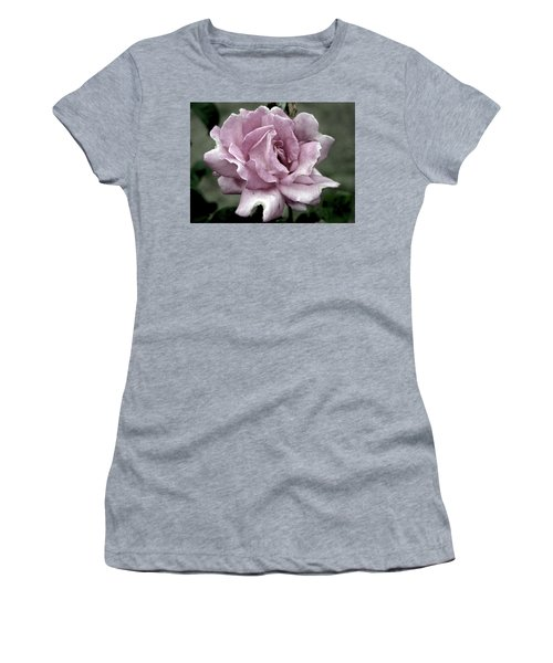 Faded Beauty Rose 0226 H_2 Women's T-Shirt (Athletic Fit)