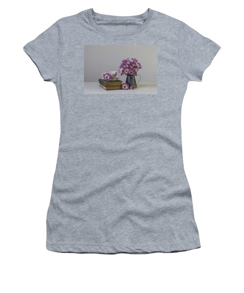 Women's T-Shirt (Athletic Fit) featuring the photograph Fading Memories by Kim Hojnacki