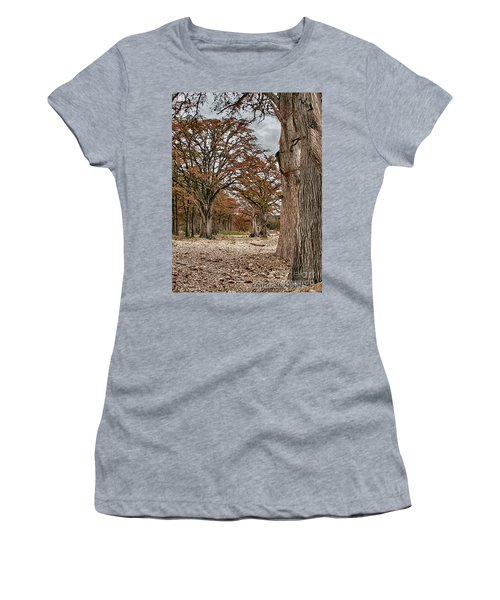 Fall In Texas  Women's T-Shirt (Athletic Fit)