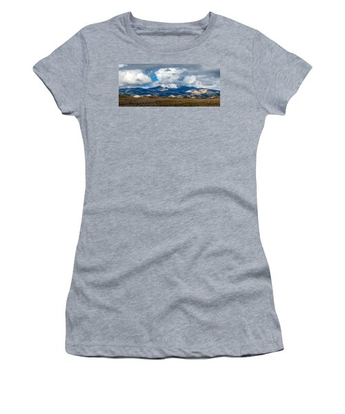 Fall Storm Clearing Off Pintada Mountain Women's T-Shirt (Junior Cut) by John Brink