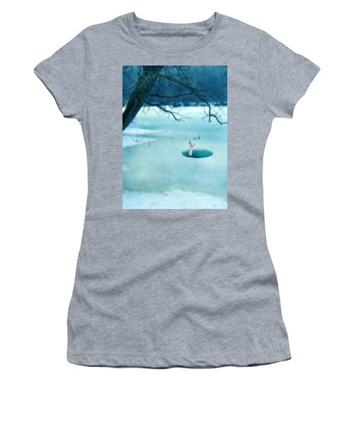 Fallen Through The Ice Women's T-Shirt (Athletic Fit)