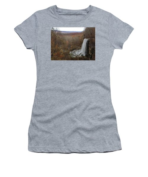 Falling Spring Falls, Va Women's T-Shirt (Athletic Fit)
