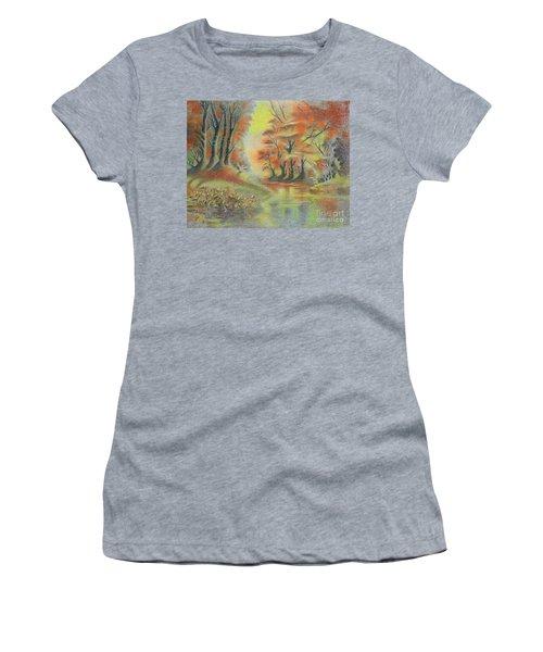 Fantasy Landscape Women's T-Shirt (Athletic Fit)