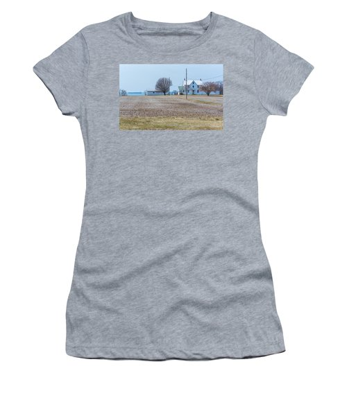 Farm On The Bay Women's T-Shirt (Athletic Fit)