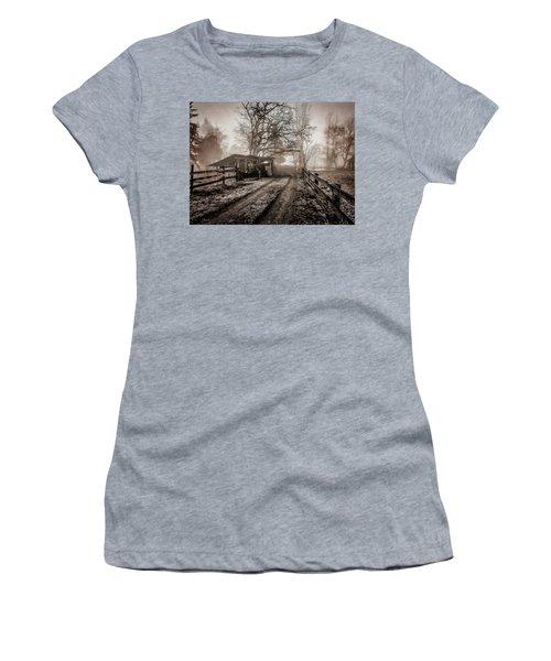 Farm Road Late Autumnl. Women's T-Shirt (Athletic Fit)