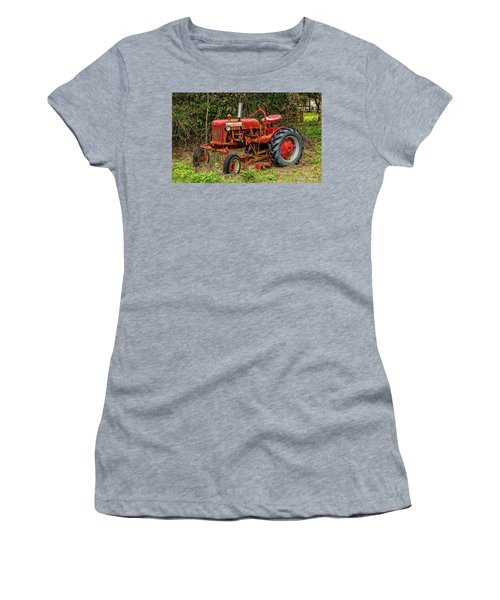 Women's T-Shirt (Junior Cut) featuring the photograph Farmall Cub by Christopher Holmes