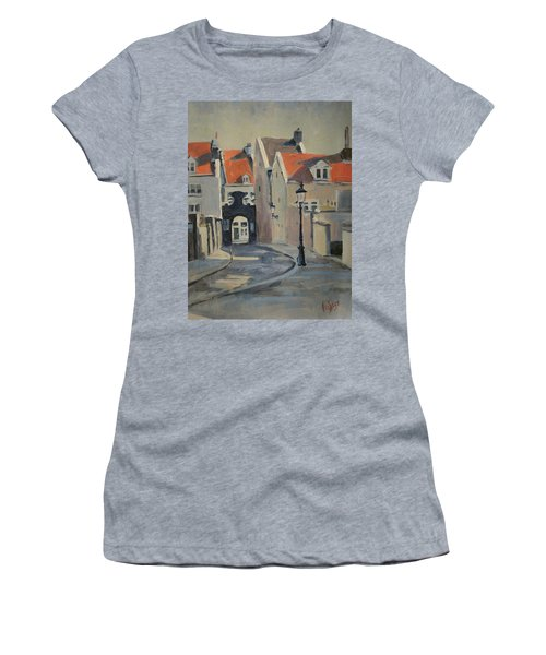 Fathers Gate Maastricht Women's T-Shirt (Athletic Fit)