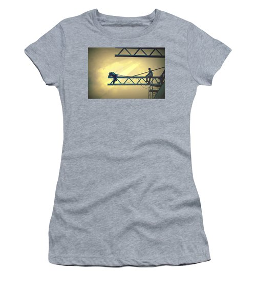 Fearless Sky Workers Women's T-Shirt (Athletic Fit)