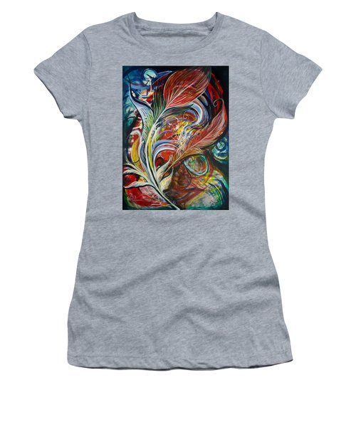 Feather Fury Women's T-Shirt (Athletic Fit)