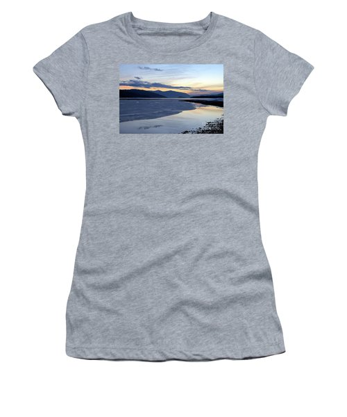 February At Dusk 5 Women's T-Shirt (Athletic Fit)