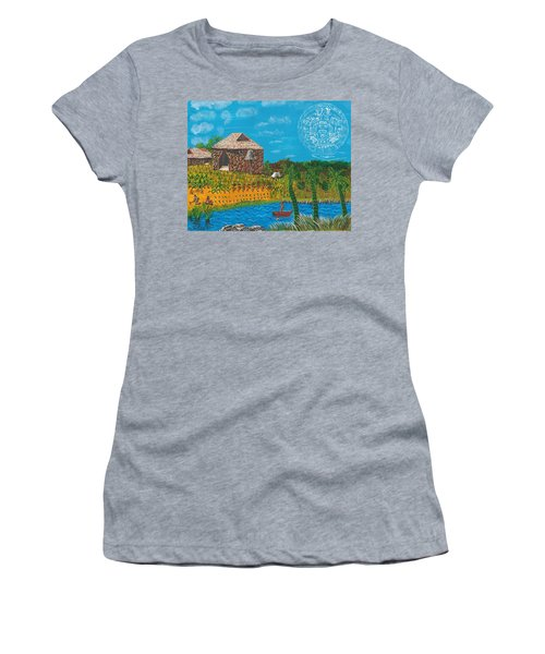 February  Mayan Farm Women's T-Shirt (Athletic Fit)