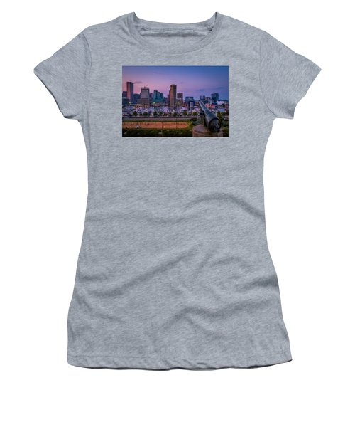 Federal Hill In Baltimore Maryland Women's T-Shirt