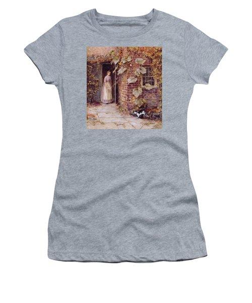 Feeding The Kitten Women's T-Shirt
