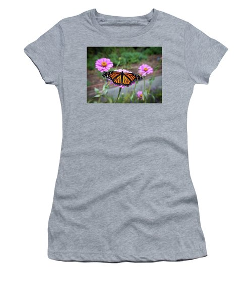 Female Monarch  Women's T-Shirt (Athletic Fit)
