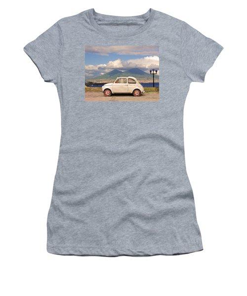 Fiat 500 Pizza Women's T-Shirt