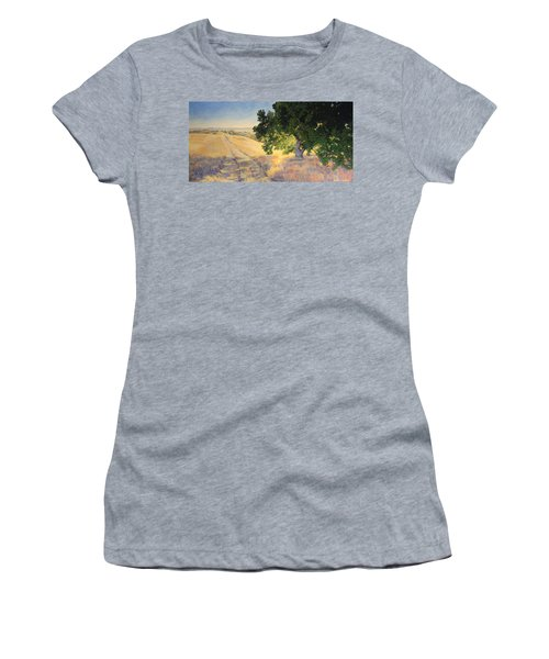 Field Oak Women's T-Shirt (Athletic Fit)
