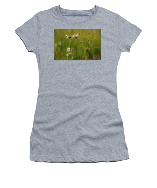 Field Of Flowers 2 Women's T-Shirt (Athletic Fit)
