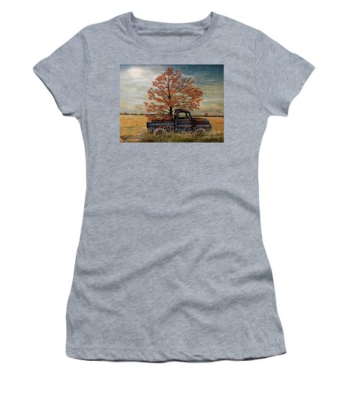Field Ornaments Women's T-Shirt (Athletic Fit)