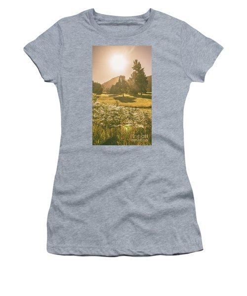 Fields Of Springtime Women's T-Shirt