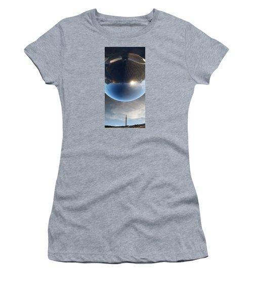 Final Frontier Women's T-Shirt (Junior Cut) by Paul Moss