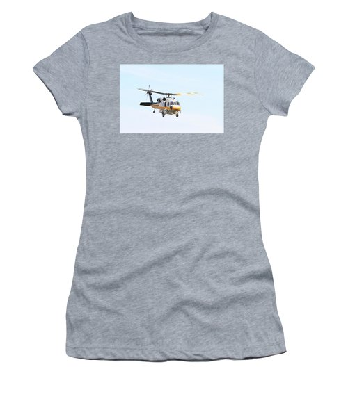 Firehawk In Flight Women's T-Shirt (Athletic Fit)