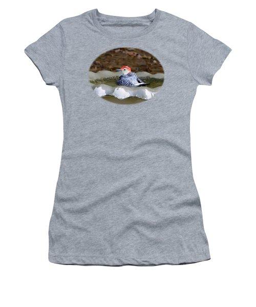 First Bath Women's T-Shirt (Junior Cut) by Sue Melvin