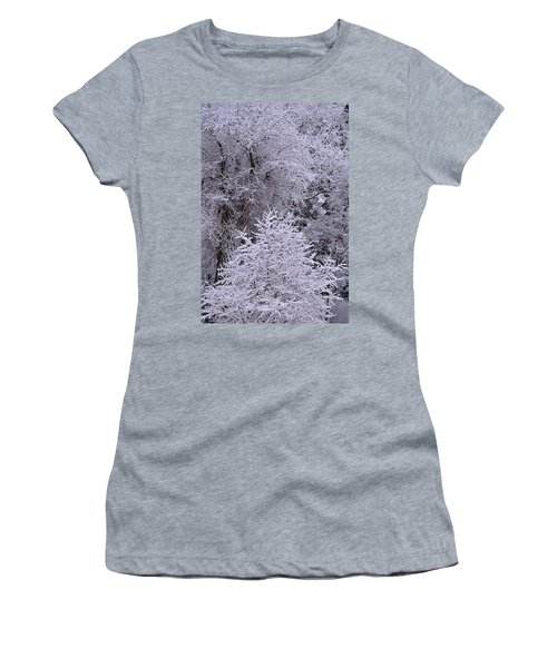 First Snow I Women's T-Shirt (Athletic Fit)