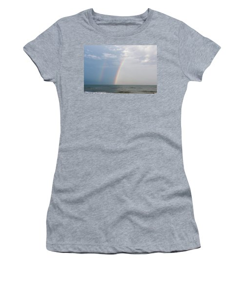 Fishing For A Pot Of Gold Women's T-Shirt (Athletic Fit)