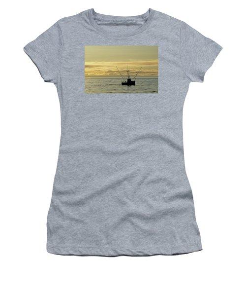 Fishing Off Santa Cruz Women's T-Shirt