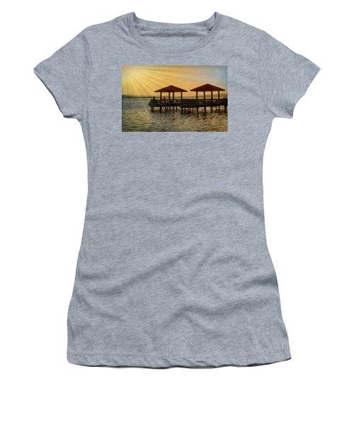 Fishing Pier Women's T-Shirt (Athletic Fit)