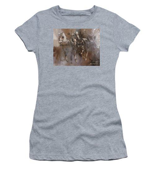 Fjords On The Run Women's T-Shirt (Junior Cut) by Kathy Russell